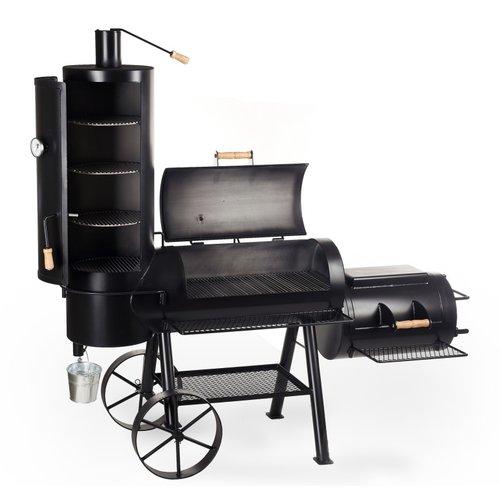 Joe's barbecue  Joe's BBQ 16'' Chuckwagon Smoker