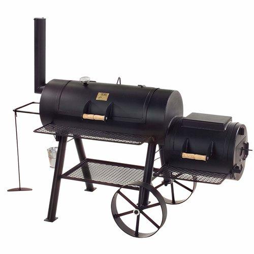 Joe's barbecue  Joe's BBQ 16 '' Longhorn Smoker