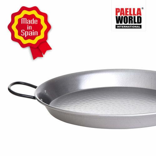 Paella world Paellapan, gepolijst staal, Ø 28 cm