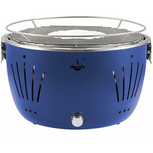 El Fuego El Fuego Tulsa Tafelbarbecue Lotus blauw