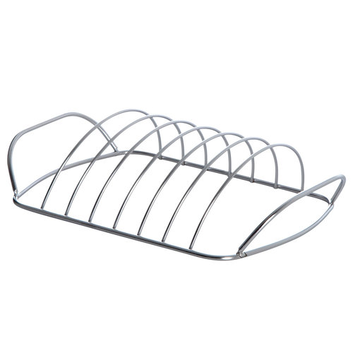 ALL' GRILL ALL'GRILL Roestvrijstalen spareribhouder, 30 x 18 x 8 cm