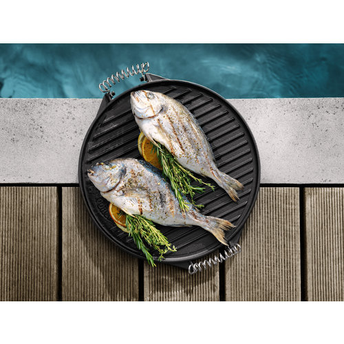 Outdoorchef Outdoor Chef Gietijzeren Plancha voor  420 - Ø 33 cm