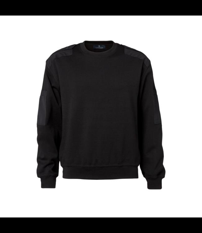 CC55 Pullover ronde hals Zwart