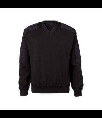 CC55 Pullover V-neck Black
