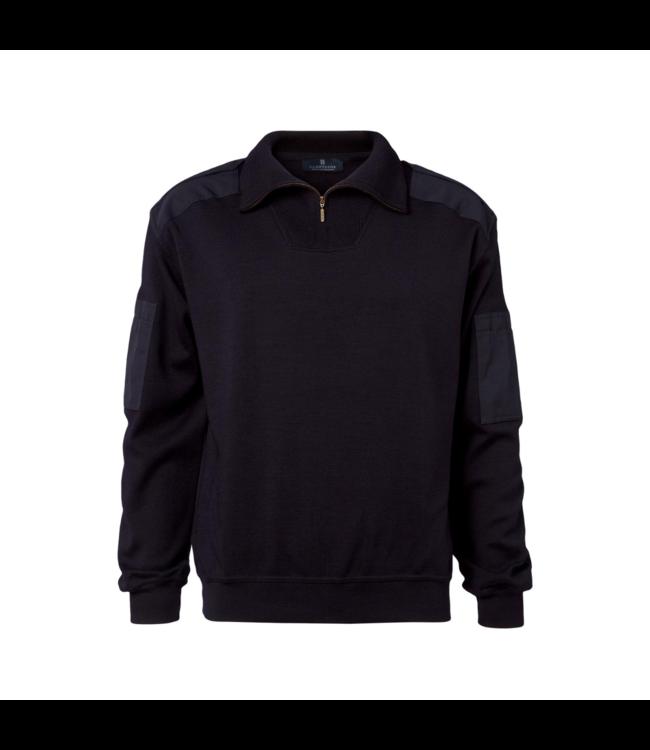 CC55 Pullover short zip Navy