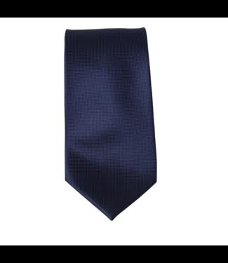 Ernst Alexis Silk Tie - Navy