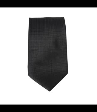 Ernst Alexis Silk Tie - Black