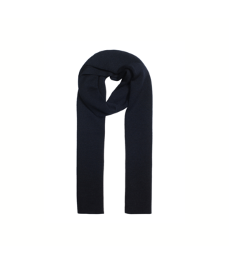 CC55 Knitted scarf - Navy