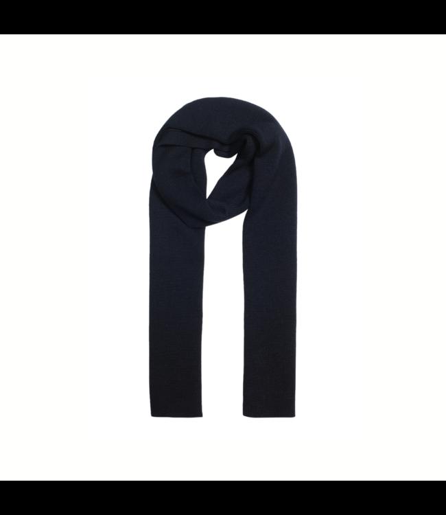 CC55 Gebreide sjaal - Navy