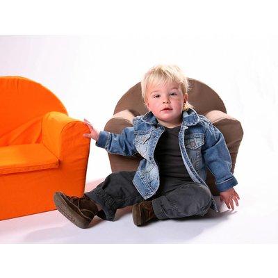 Kinderfauteuil Jeansblauw