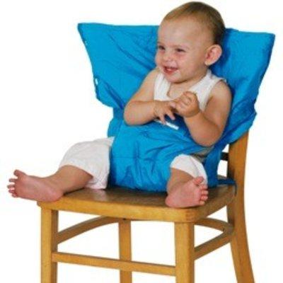 Sack 'n Seat Aqua - handige opvouwbare kinderstoel, past in je handtas