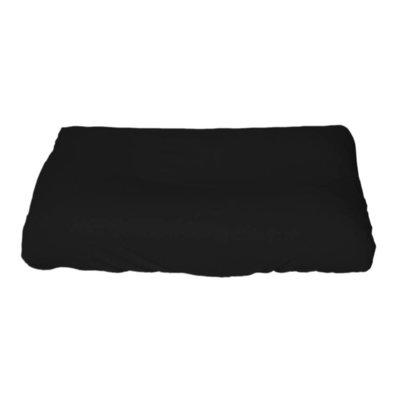 Hoes aankleedkussen XXL  Zwart