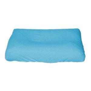 Hoes Lichtblauw - voor standaard aankleedkussen 70*50 cm