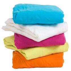Hoes en band voor aankleedkussen