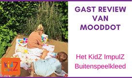 Gast Review: Hét perfecte buitenspeelkleed, is van Kidzimpulz!