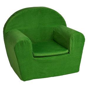 Kinderfauteuil Groen - ribstof
