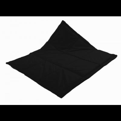Actie ! Speelkleed Zwart XS - 120*120 cm - nu 15% korting