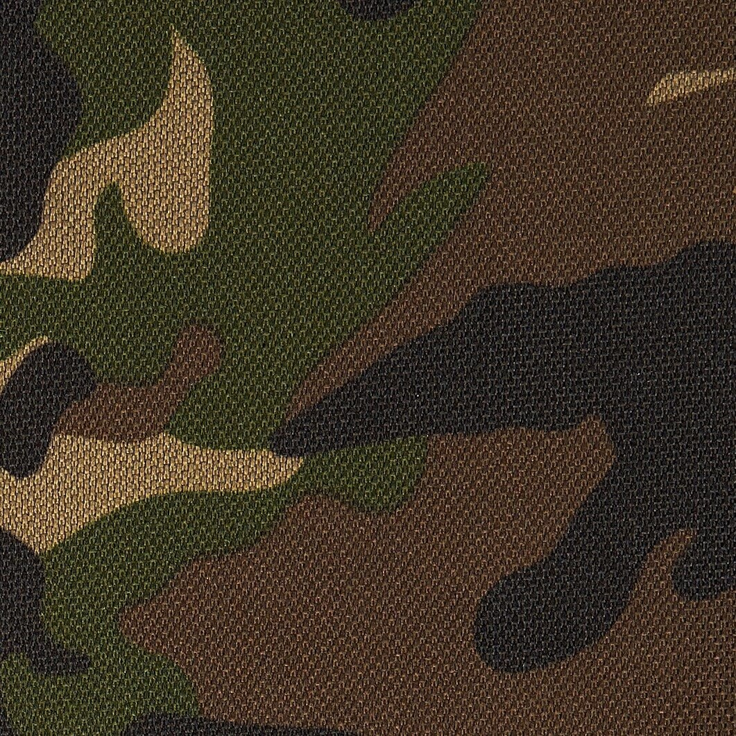 speelkleed in armygreen camouflage print van kidz impulz