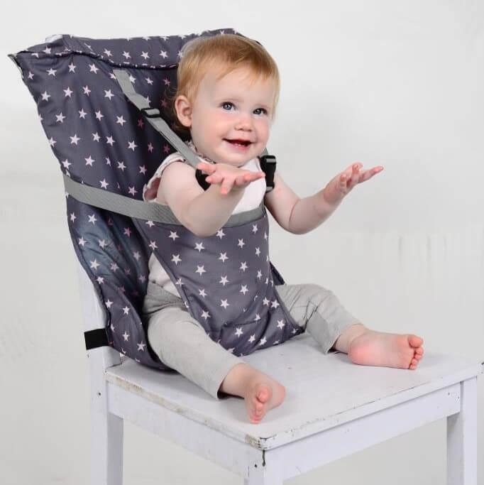 Sack 'n Seat de handigste opvouwbare kinderstoel!