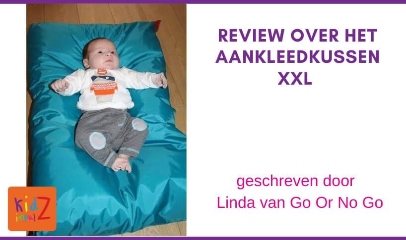 Review Aankleedkussen XXL van KidZ ImpulZ