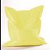Aanbieding  20% korting - Zitzak Pastelgeel - maat  M