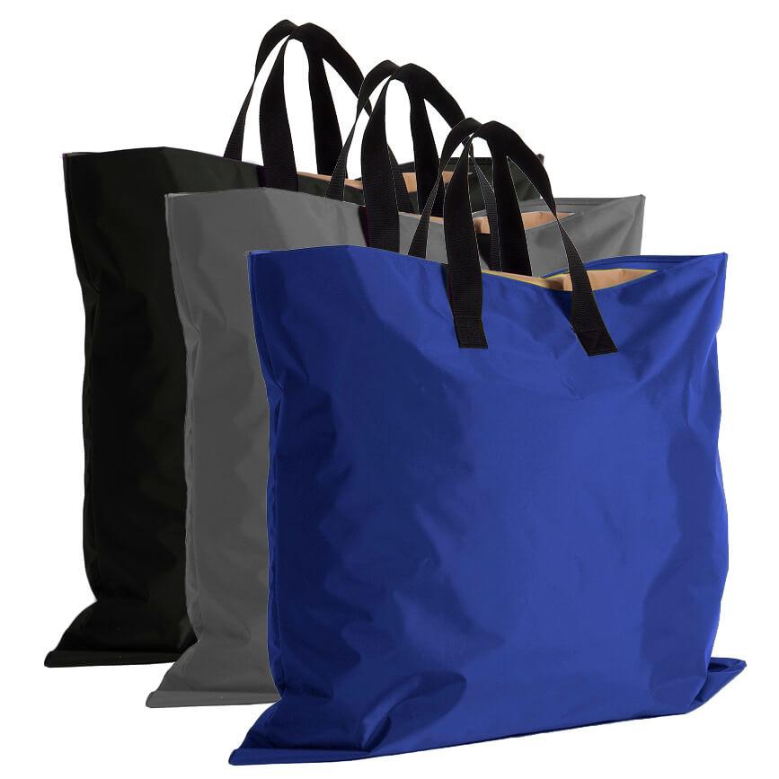 Handige tas, shopper voor baby speelkleed