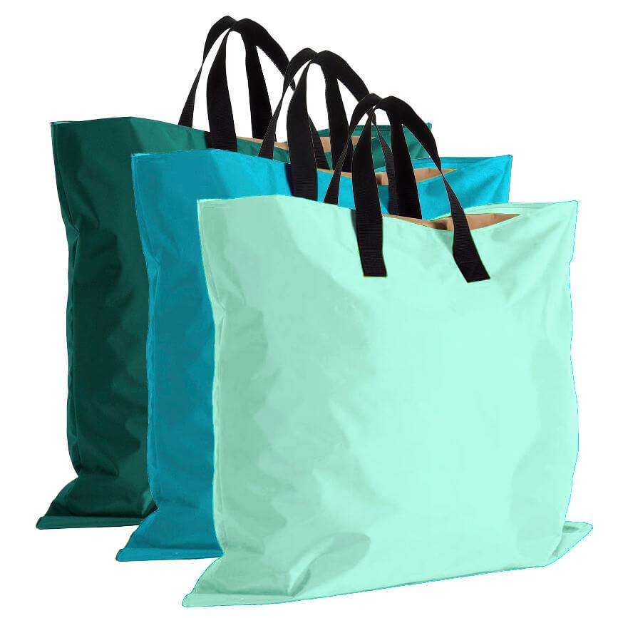 Handige shopper voor buitenspeelkleed