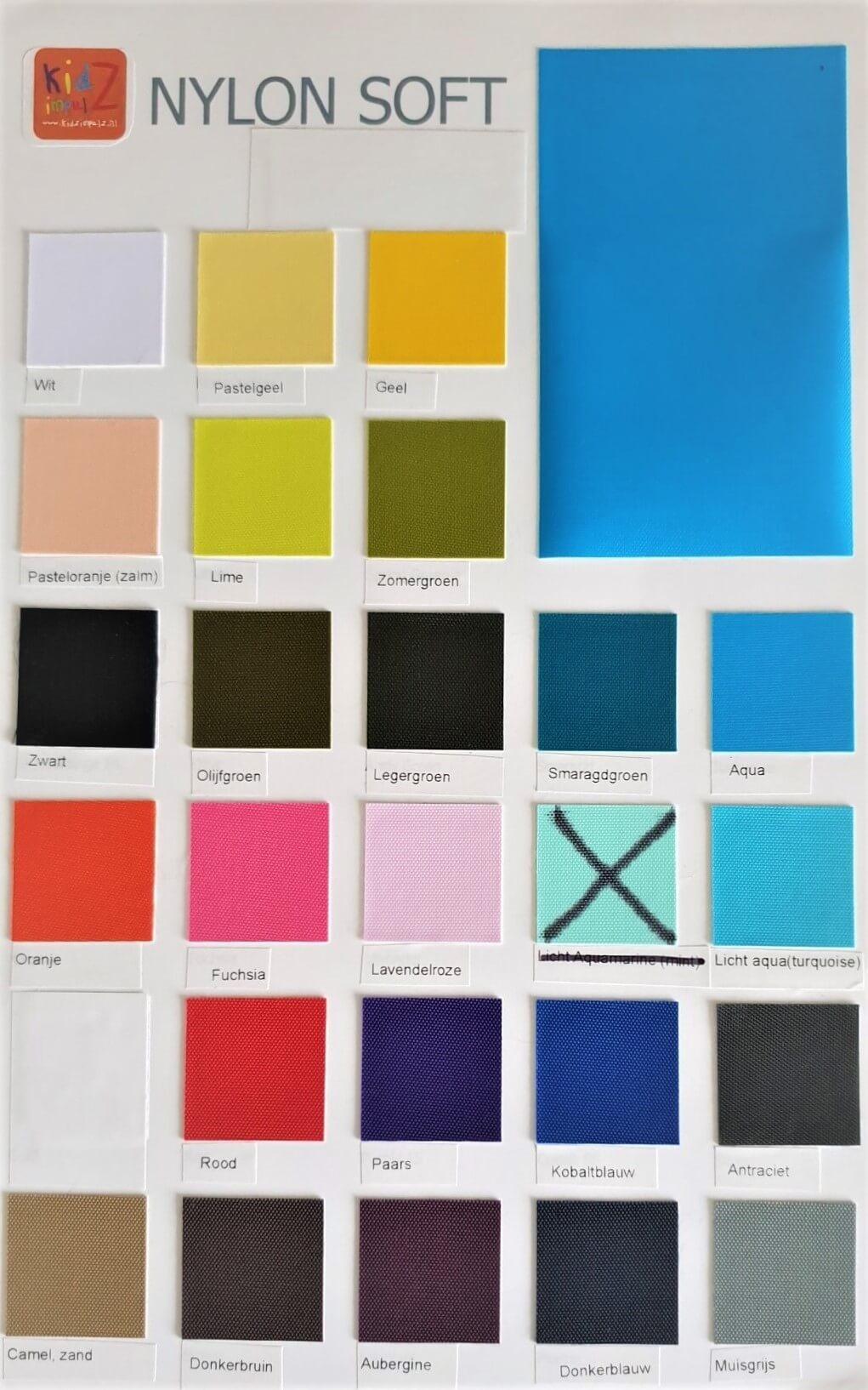 Kleurkaart KidZ impulZ