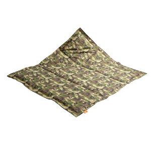 Actie: Buitenspeelkleed S Camouflageprint Armygreen - 15% korting