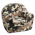 NIEUW! Kinderfauteuil Camouflage, armyprint