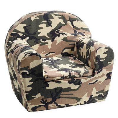 NIEUW! Kinderfauteuil Camouflage, superstoer en past overal