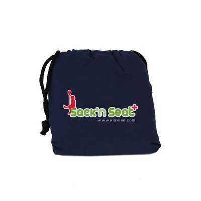 Sack 'n Seat Donkerblauw - handige opvouwbare kinderstoel, past in je handtas