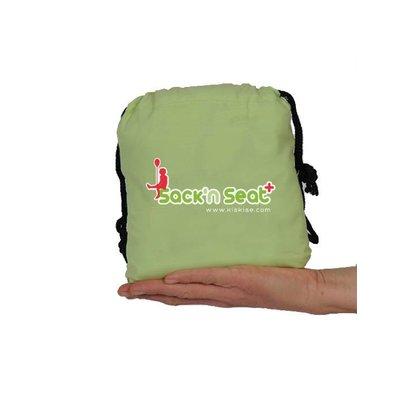 Sack 'n Seat Lime - handige opvouwbare kinderstoel, past in je handtas