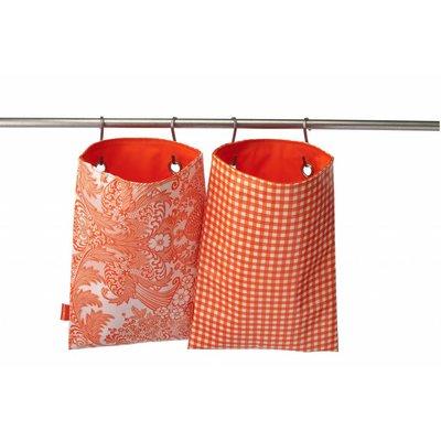 Hang n pack Oranje Ruitje - LAATSTE
