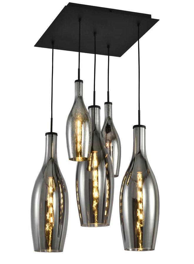Hanglamp Eva 5-lichts