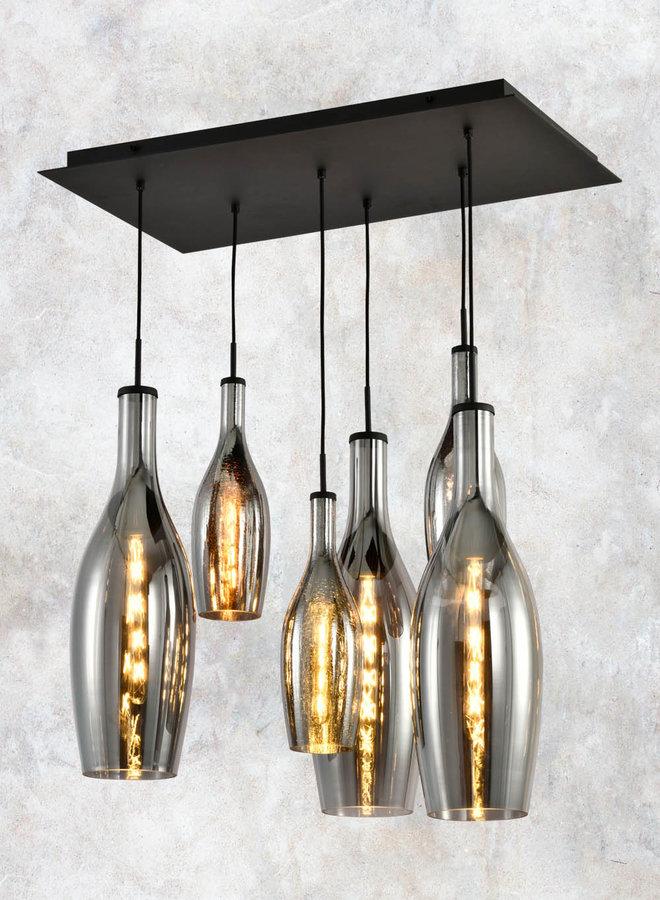 Hanglamp Eva 6-lichts