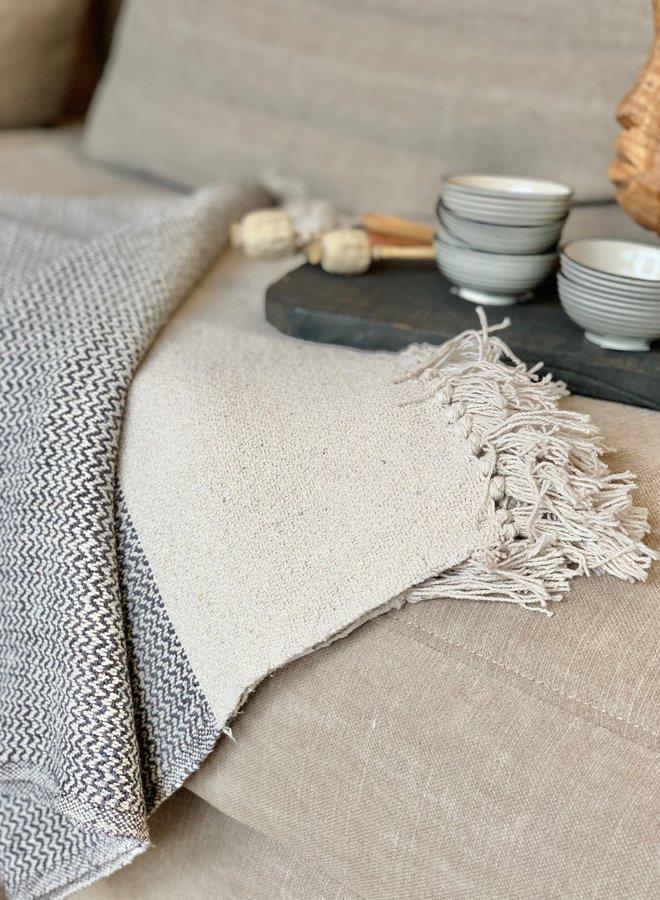 Plaid Cotton Grijs