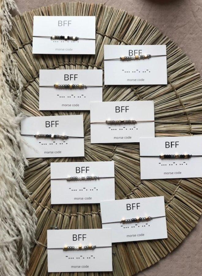 Armband Morsecode BFF
