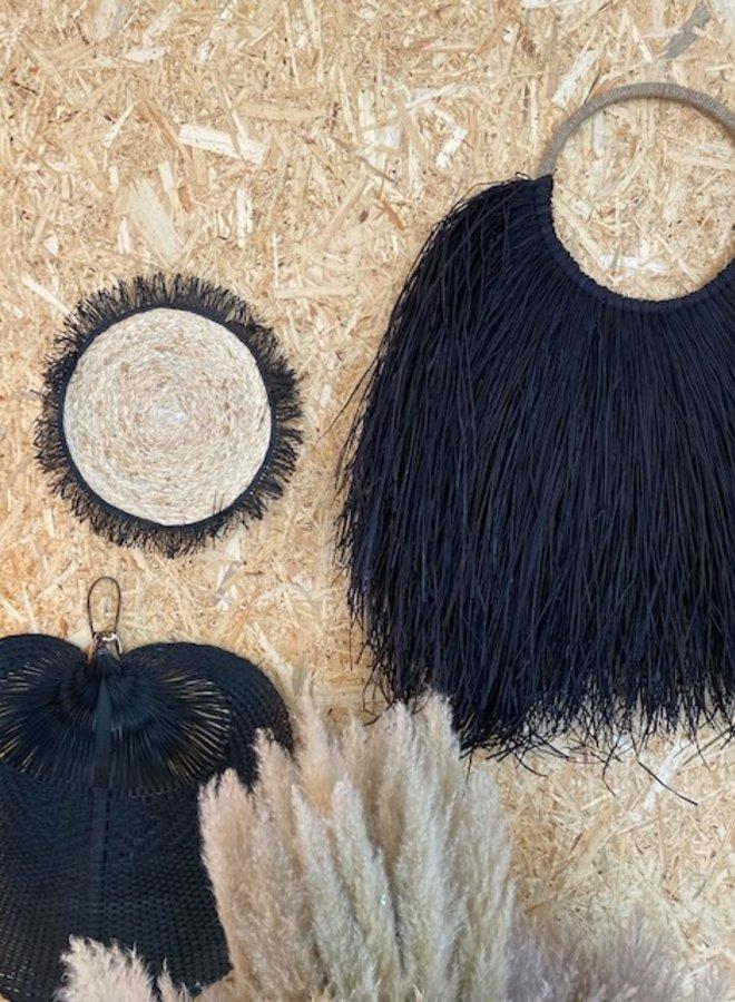 Bamboe Wanddeco Zwart