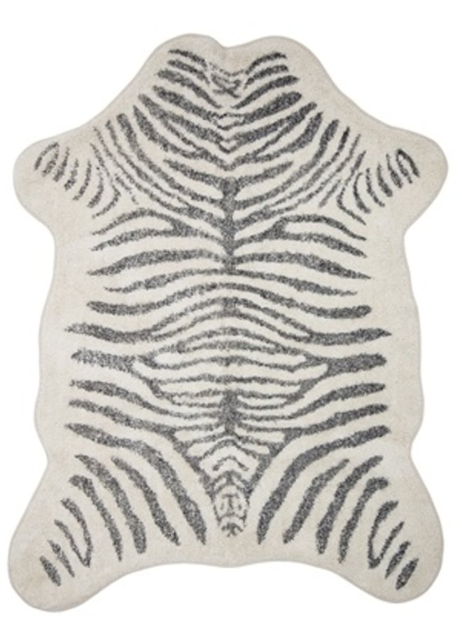 Vloerkleed Zebra Katoen 190x145cm