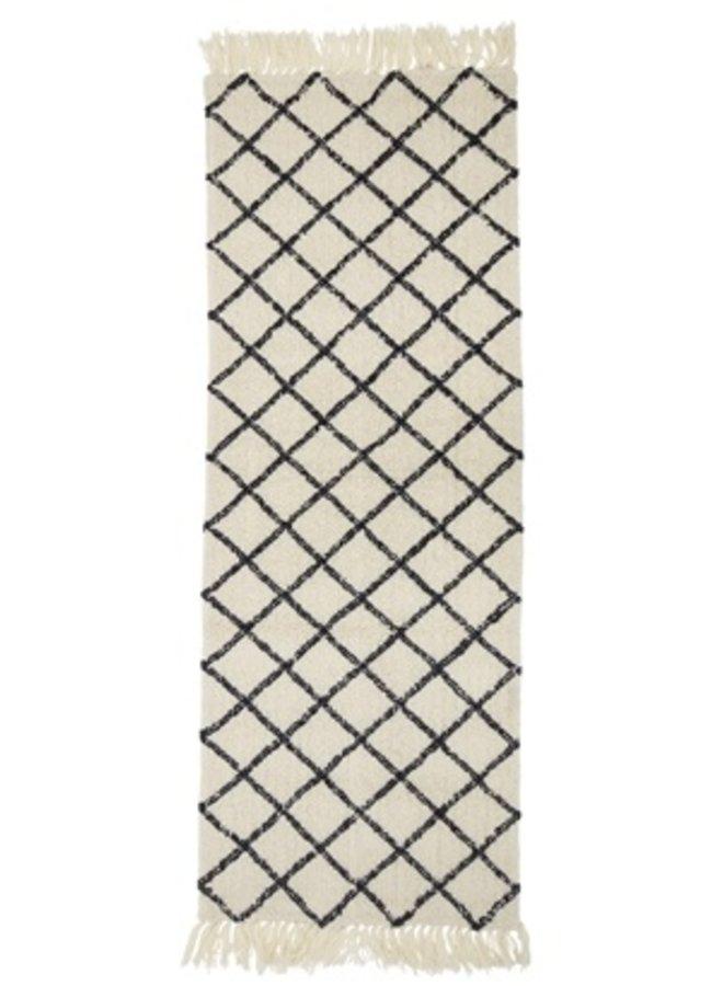 Vloerkleed Wol 200x70cm