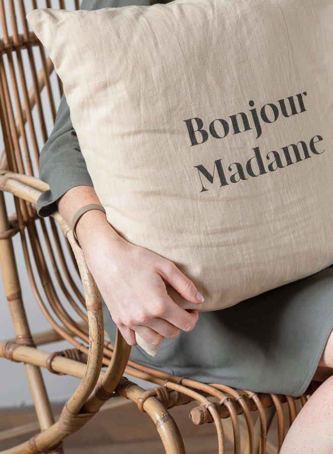 Kussen Bonjour Madame 45x45 cm