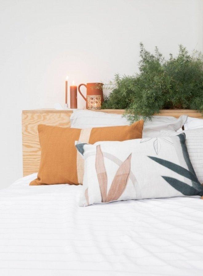 Kussen Streep Honing 40x60 cm