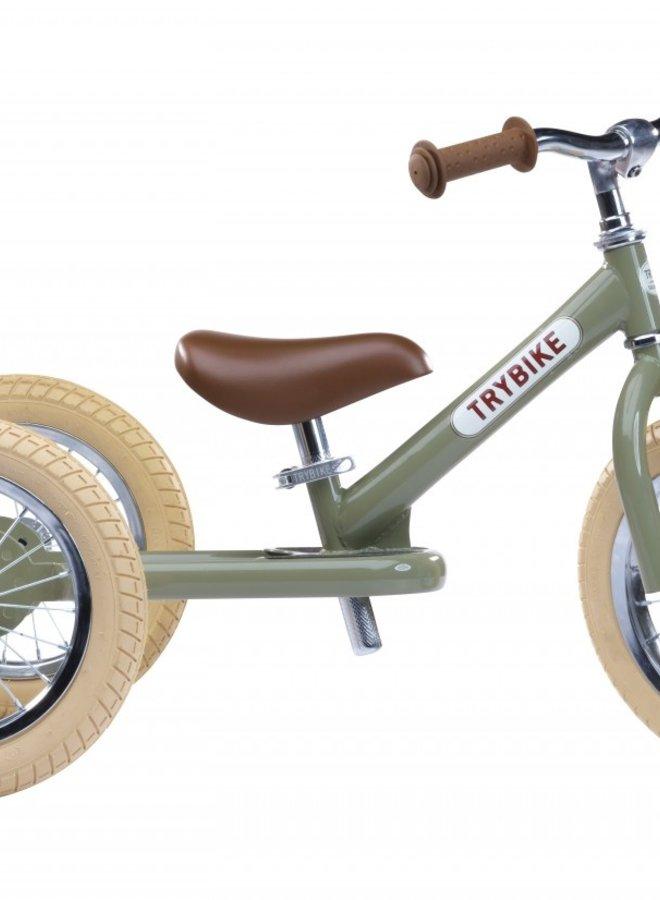 Trybike Steel Vintage Groen - Driewieler
