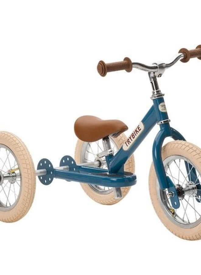 Trybike Steel Vintage Blauw - Driewieler