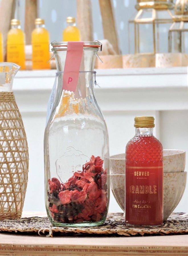 Tafelwater Aardbei & Hibiscus
