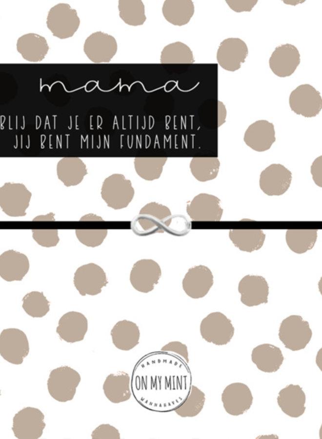 Kaart met Sieraad Mama