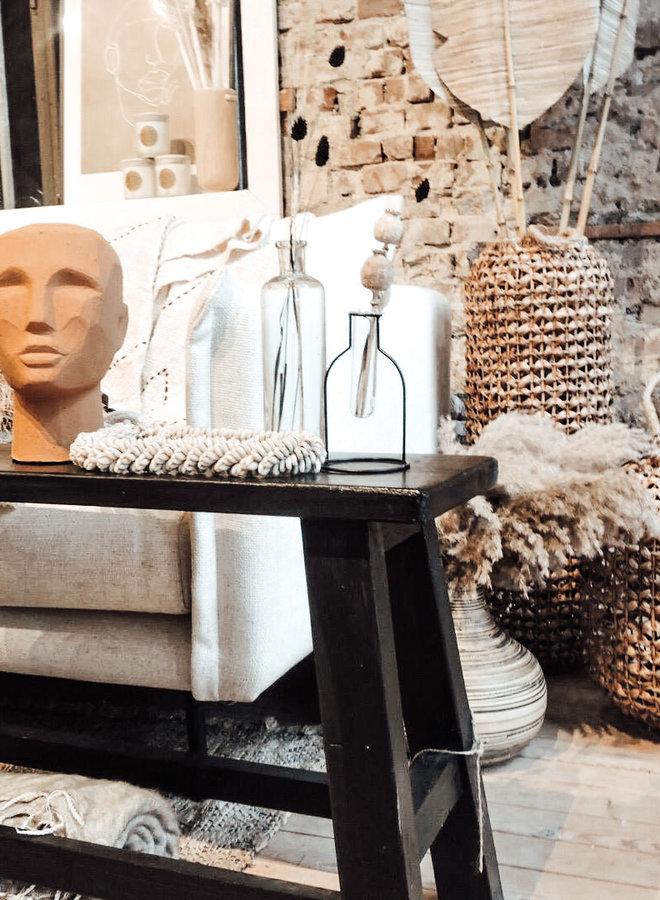 Abstract Head Sculpture Terra