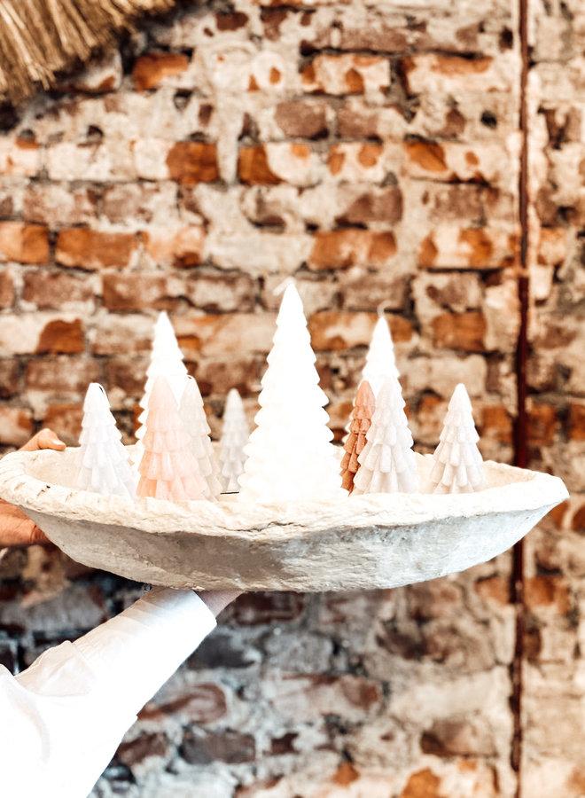 Kerstboomkaars Brique 12 cm