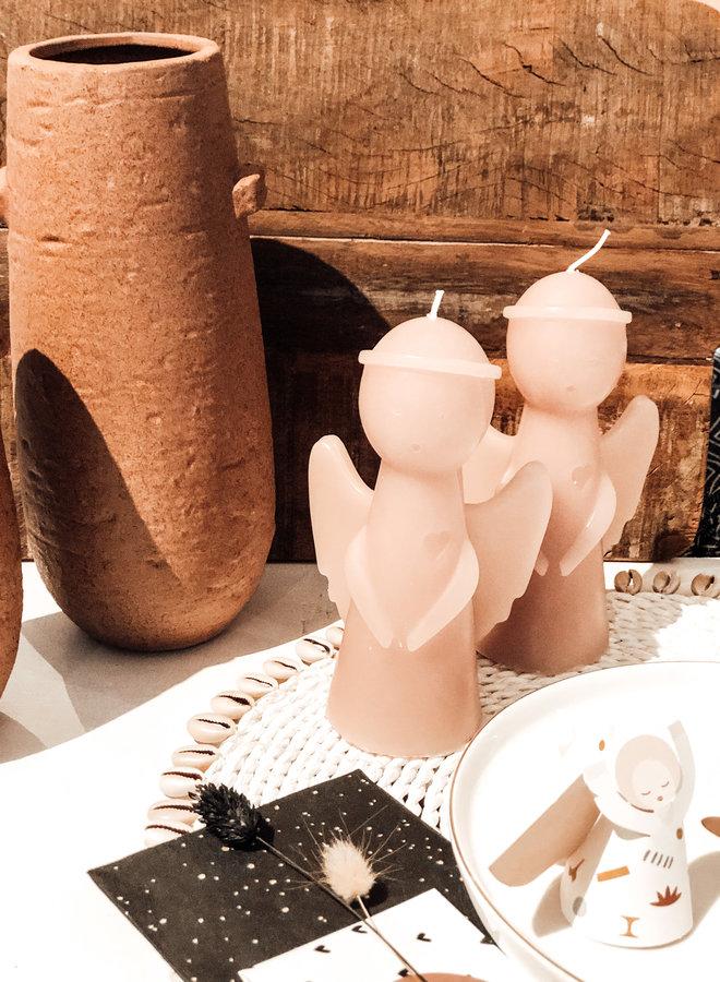 Sculpture Candle Angel Skin 16 cm